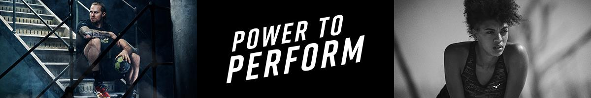 Mizuno - Power to Perform